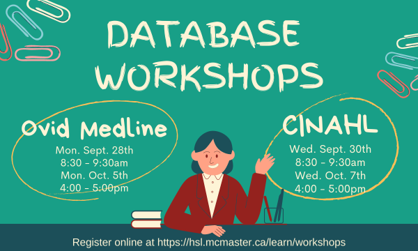 Online Workshops: Fundamentals of Searching Databases