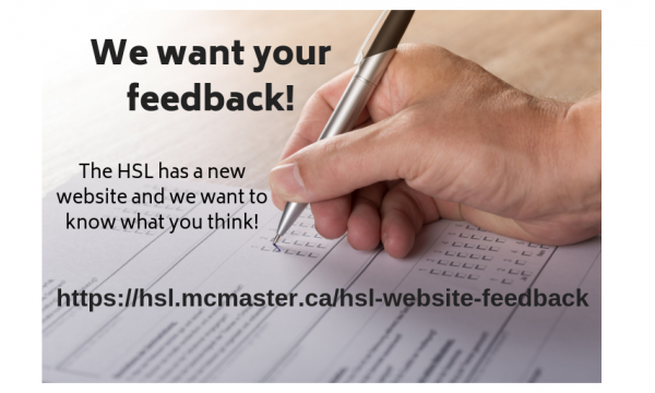 We want to hear from you, McMaster!