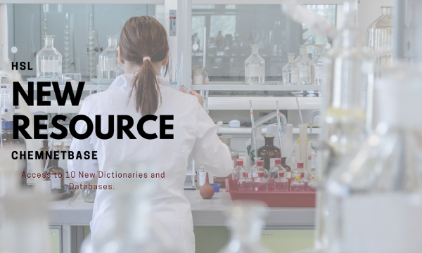 New Chemical Research Resource at HSL - CHEMnetBASE