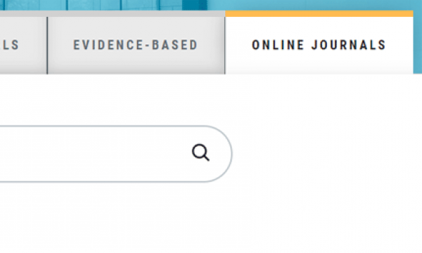 New on the HSL Website: Online Journals!
